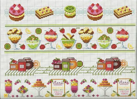 disegni a punto croce per cucina schemi punto croce rivista tutto per la cucina punto croce