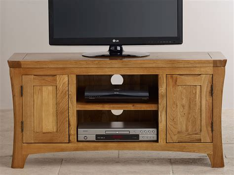 orrick rustic oak tv cabinet orrick rustic solid oak widescreen tv and dvd cabinet