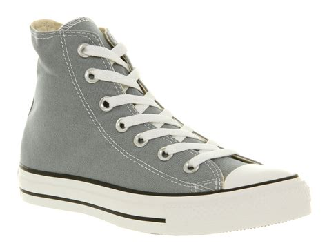 Conversehigh Grey Ct2 converse all hi lead grey st trainers shoes ebay