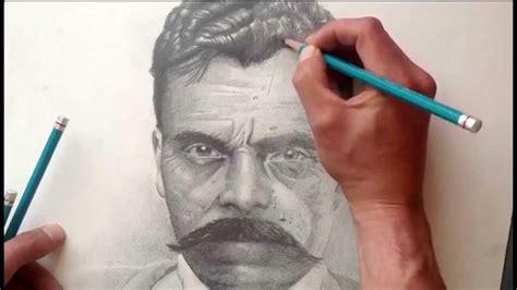 imagenes de emiliano zapata a lapiz retrato tips para usar lapices h b 2b 3h etc youtube
