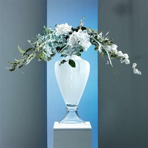vasi fiori vetro 25 migliori idee su vasi bianchi su