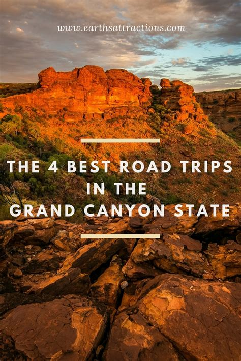 grand canyon boat day trips the 4 best road trips in the grand canyon state earth s