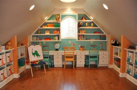 turn  attic   perfect play area   kids