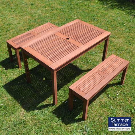 garden furniture bench set helsinki bench seat set