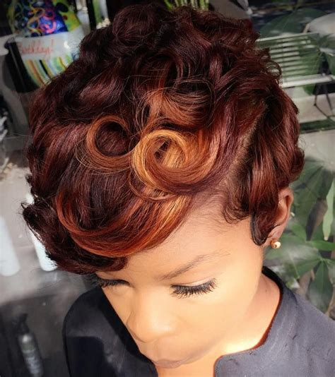 iages of african american red pixie cut styles 60 great short hairstyles for black women african