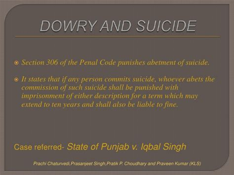 section 375 of ipc dowry death under section 304 b of ipc by prachi pratik