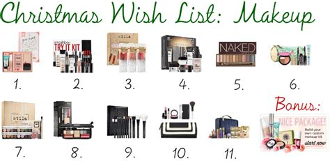 tumblr themes for gifsets the blush blonde christmas wish list makeup