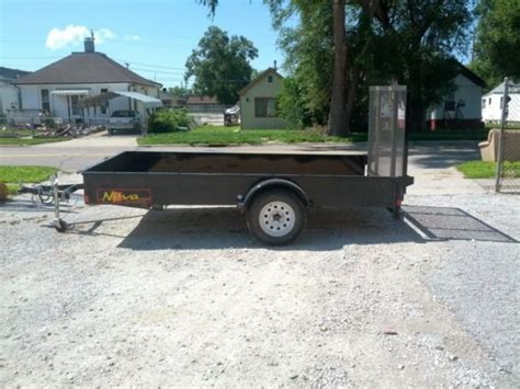 flat bed trailer rental utility trailer resource rental center council bluffs ia and omaha ne eqipment