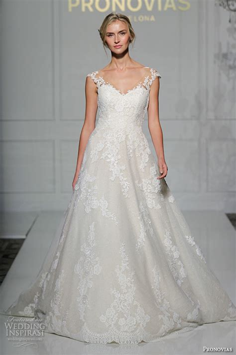 pronovias 2016 wedding dresses york bridal runway