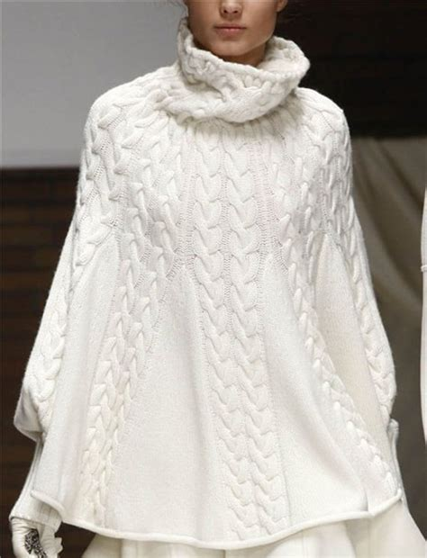 knitting pattern poncho with sleeves knit turtleneck poncho with sleeves your color