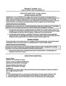 department manager resume exle