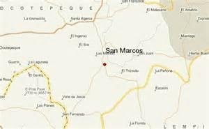 where is san marcos on a map gu 237 a urbano de san marcos honduras ocotepeque