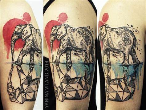 geometric tattoo calgary 41 best ideas about elephant tattoos on pinterest