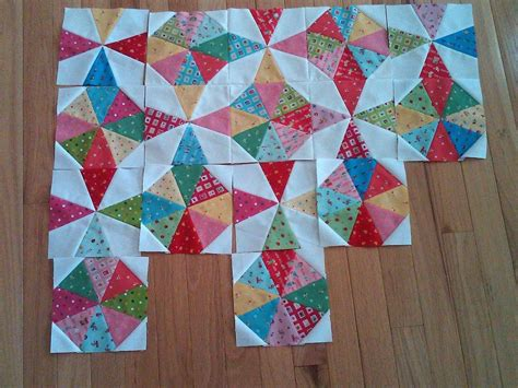 Kaleidoscope Patchwork Quilt Pattern - kaleidoscope progress kaleidoscope quilt patchwork and