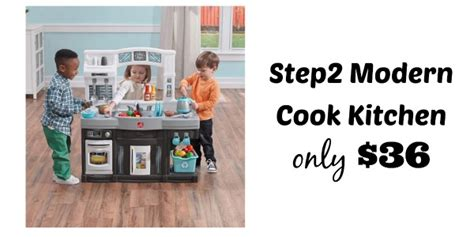 kohl s step2 modern cook kitchen set only 36 shipped