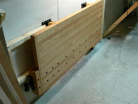 Garage Workbench Design folding workbench wall mounted home design ideas