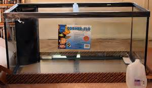 We choose a 120 gallon tank because we liked the length and were