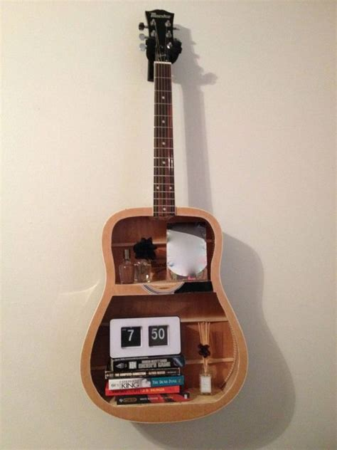 guitar home decor musically inspired furniture and decorations for your home