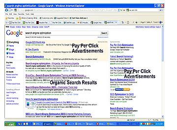 infinity advertising services pay per click