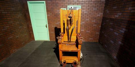 chaise electrique execution peine de mort aux usa bient 244 t le retour de la chaise