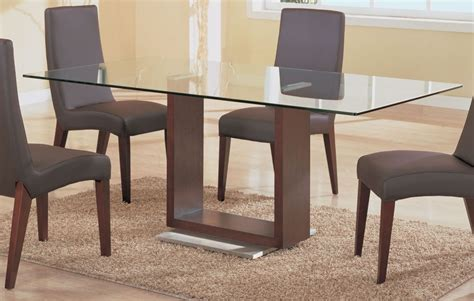 Glass And Wood Dining Tables Glass Dining Table With Wood Base Great As Dining Table And Glass Top Dining Tables With