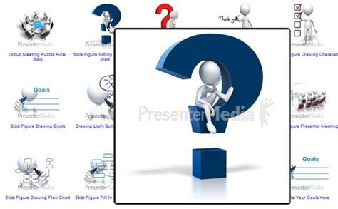 3d Cliparts For Powerpoint Templates And Backgrounds Presenter Media Templates Free