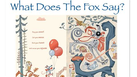 fox picture book what does the fox say children s picture book bedtime