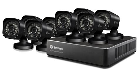 swann dvr8 159 8 channel home security system with 8