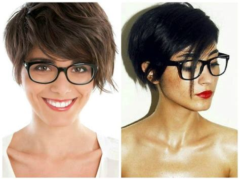 Hairstyles For 45 With Glasses by 13 Best Images About Hair And Glasses On