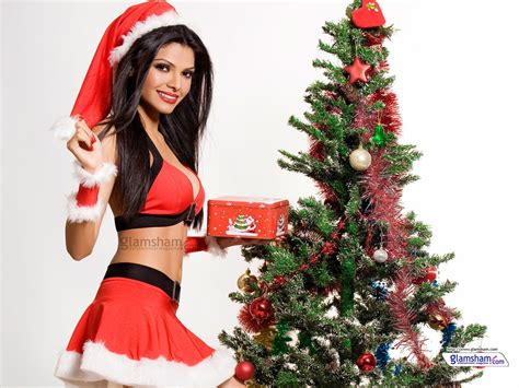 wallpaper christmas babe bollywood babes celebrate christmas 60563 glamsham