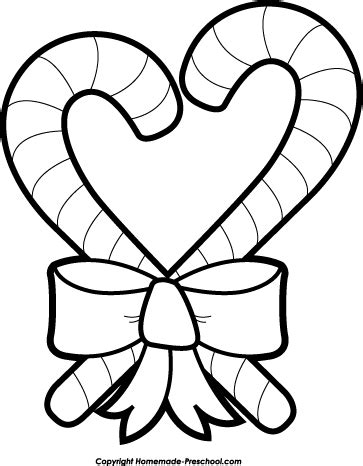christmas heart coloring page free christmas clipart