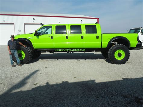 how is a truck a mega eight door ford f 250 on 48 quot tires ford