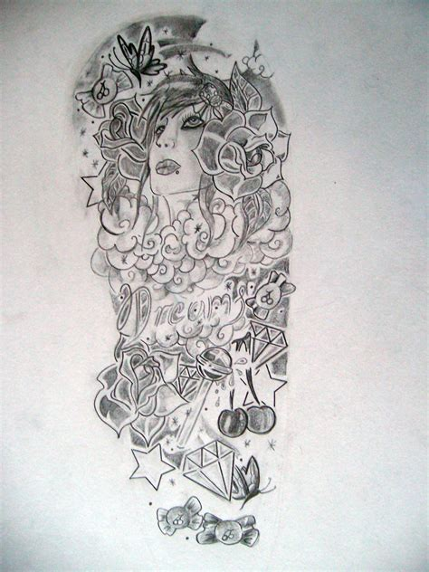 free half sleeve tattoo designs design for tatoos half sleeve drawings