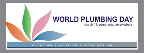consolidated supply march 11 is world plumbing day