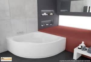 baignoire d angle acrylique 150x150 largo kolpa