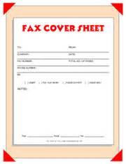 pdf free printable fax cover sheets