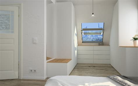 Begehbarer Kleiderschrank Kleines Schlafzimmer by Begehbarer Kleiderschrank Im Schlafzimmer Integrieren