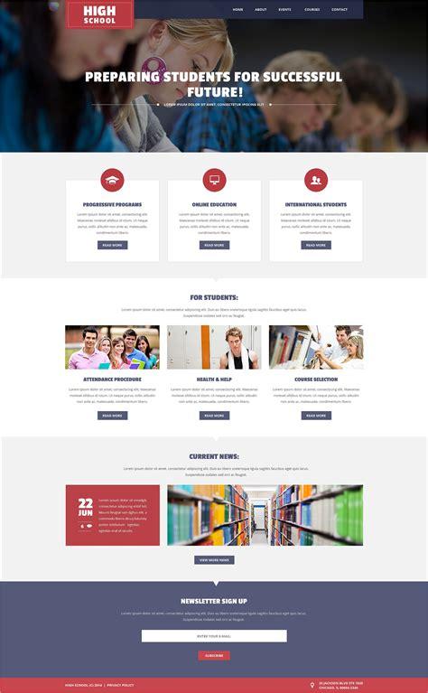 university website templates 22 best university website templates free premium