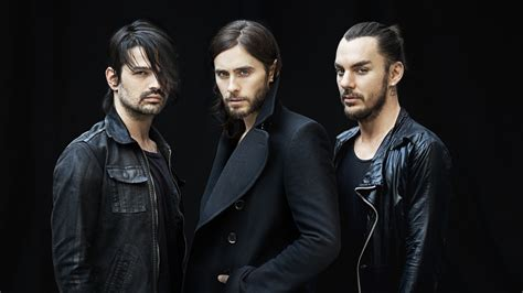 jared letto band 30 seconds to mars jared leto black band wallpaper