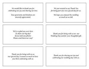 thank you for wedding gift wording 17 best ideas about wedding thank you wording on thank you card wording thank you