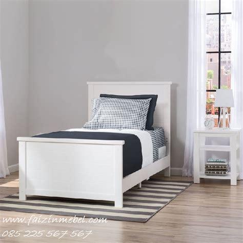 Tempat Tidur Minimalis Warna Putih tempat tidur anak minimalis warna putih faizinmebel