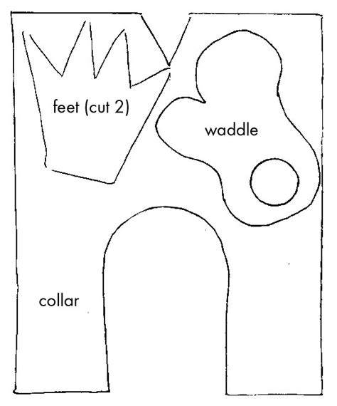 turkey waddle coloring page best photos of turkey waddle template turkey head cut