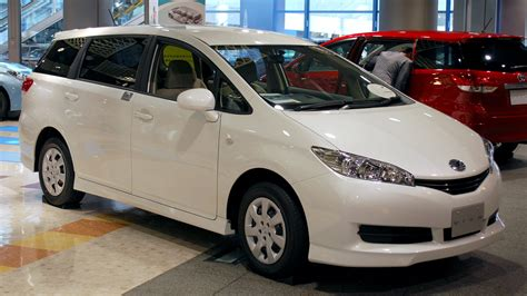 toyota wish file 2009 toyota wish 05 jpg wikimedia commons