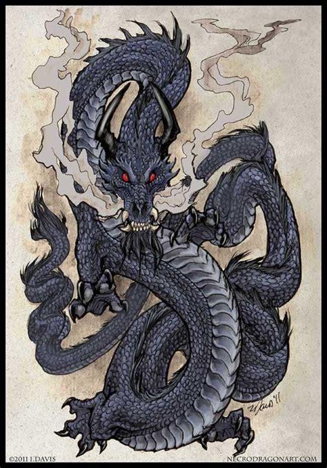 tattoo japanese dragon black eastern dragon by drakhenliche deviantart com on