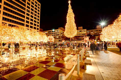 mayor s christmas tree lighting 2014 crown center