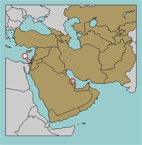 middle east map no names test your geography knowledge middle east countries