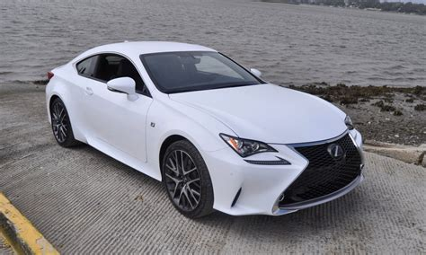 white lexus 2015 2015 lexus rc350 f sport review