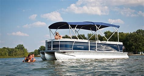 harris flotebote bimini top research 2015 harris flotebote sunliner 200 on iboats