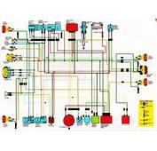 Honda XL250 Wiring Diagram