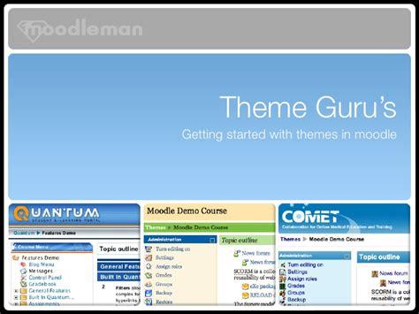moodle themes eguru theme gurus